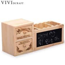 Paper Desk Organizer Vividcraft Office Supplies Wood Desk Accessories Stationery Shop