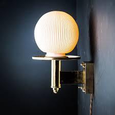 bone china and brass sconce wall light u2014 felix lighting