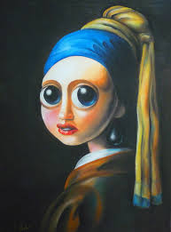 pearl earring painting girl with the pearl earring painting analysis