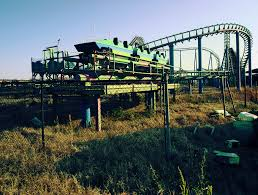 Six Flags Email File End Of The Line At Six Flags New Orleans Jpg Wikimedia Commons