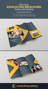 sided tri fold brochure template tri fold education brochure template design in ai eps pdf cdr