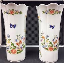 Aynsley China Vase Aynsley Cottage Garden Ornaments Peterborough Posot Class