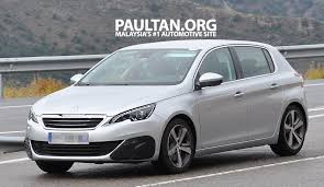 peugeot cars malaysia spyshots is this the upcoming peugeot 308 gti