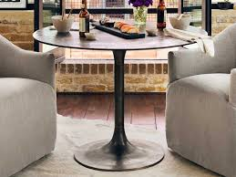 round table marlow rd four hands marlow antique rust 41 5 round simone bistro table
