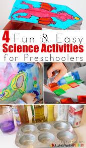 4 fun u0026 easy science activities for preschoolers