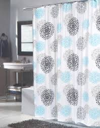 Large Shower Curtains Carnation Home Fashions Inc Fabric Shower Curtains