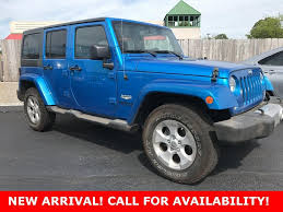 used lexus suv springfield mo jeep wrangler unlimited sahara 4wd in missouri for sale used