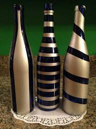 silver wine bottles diy spray painted wine bottles for fall decorating painted wine