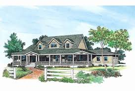 farmhouse with wrap around porch plans awesome 4 bedroom one story house plans with wrap around porch