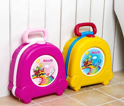 Kids children foldable portable travel potty chair toilet seat