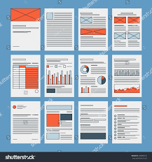 corporate business documents template company presentation stock