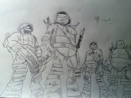 teenage mutant ninja turtles favourites by buizelchanie on deviantart