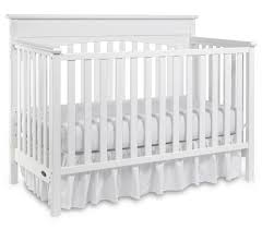 Convertible Crib Mattress by Bedroom Cozy White Baby Cache Crib With Beige Mattress For