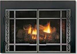 Fireplace Insert Screen by Fullview Gas Fireplace Insert By Mendota Hearth