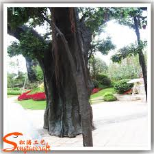 new products 2015 china supplier artificial fiberglass tree