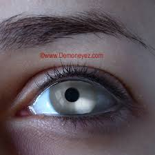 mirror silver halloween contact lenses sfx movie lens store