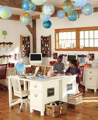 Pottery Barn Mega Desk 20 Creative Diy Repurposed Globe Ideas Storage Room Homeschool