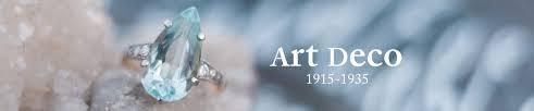 site deco vintage art deco engagement rings shop trumpet u0026 horn