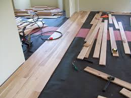 how to install a hardwood floor titandish decoration