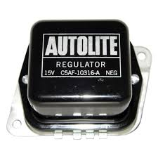 All Black Mustang Mustang Voltage Regulator Autolite Black 1965 1967 Cj Pony Parts