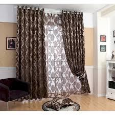 rideau chambre parents rideau occultant gris ou marron large court et rideaux design