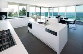 white kitchen island bench interior design