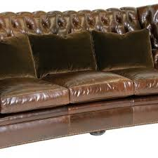 Gordon Tufted Chair Furniture Home Decor With Leather Chesterfield Sofa And Mirrored