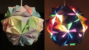 How To Make Paper Light Lanterns - diy l flower learn how to make a paper lshade