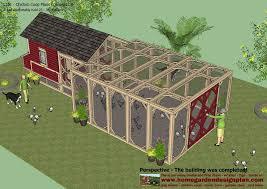 chicken coop plans 20 hens 13 http backyardchickens com