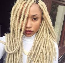 blonde marley crochet hair 40 long and short faux locs styles and how to install them