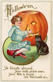 13 vintage halloween images that are free for you to use public