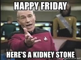Kidney Stones Meme - happy friday here s a kidney stone captain picard meme generator