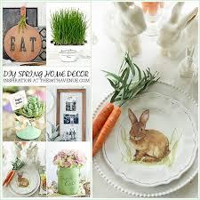 diy spring decorating ideas home decor spring ideas the 36th avenue