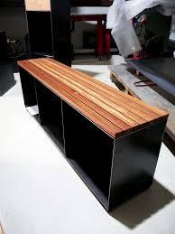 Wohnzimmerm El Teakholz Bank Kaminholz Kaminholzregal Kaminholzständer Metall Holz Für