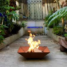 Square Firepit Square Firepit By Garden Trading Notonthehighstreet