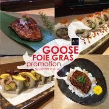 cuisine promotion โปรโมช นว ตถ ด บส ดพ เศษ foie gras ว นน 30 ก ย 58 gupapai