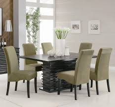 modern dining room tables round marble dining table and chairs