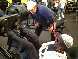 Mike O Hearn Bench Press Diary Of The Black Prince Iron Game Legends Robby Robinson