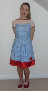 dorothy wizard of oz costume adults littleelliemae my modern dorothy wizard of oz dress