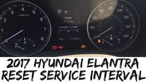 hyundai santa fe service intervals 2017 hyundai elantra reset service interval sonata how to