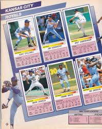 baseball photo album cards on cards panini sticker project