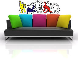 wall stickers adesivo murale wall sticker keith haring pop art wall stickers creative decorative solutions keith haring
