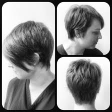 pics of razored thinned hair asymmetrical razored pixie cut mary pinterest pixie cut