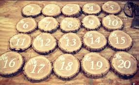 table numbers with pictures how to diy rustic table numbers revival woodworks