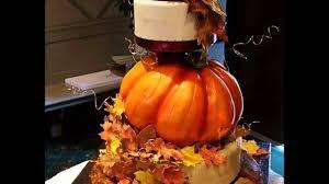 good fall cake decorations ideas youtube