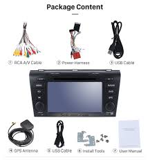 all in one android 6 0 2004 2009 mazda 3 radio upgrade with in