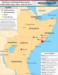 Djibouti Map Al Shabaab In East Africa Critical Threats