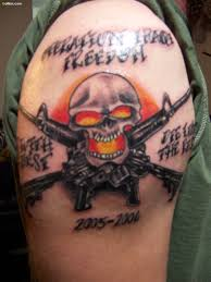 65 horrible army skull tattoo pictures u2013 scary skull tattoo