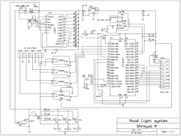 microcontroller based mood light all things s c i e n c e schematic