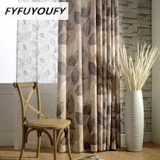Blue And Brown Curtains Printed Navy Blue Brown Blackout Curtains For Living Room